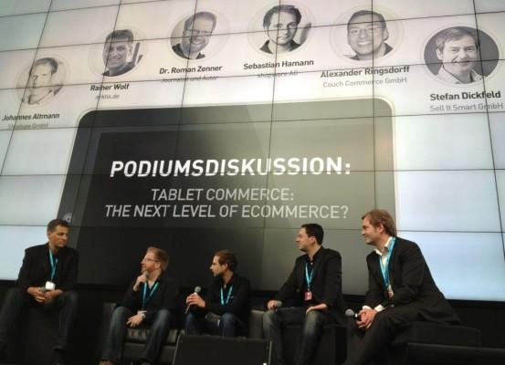 Lockere Podiumsdiskussion rund um den Tablet Markt der Zukunft