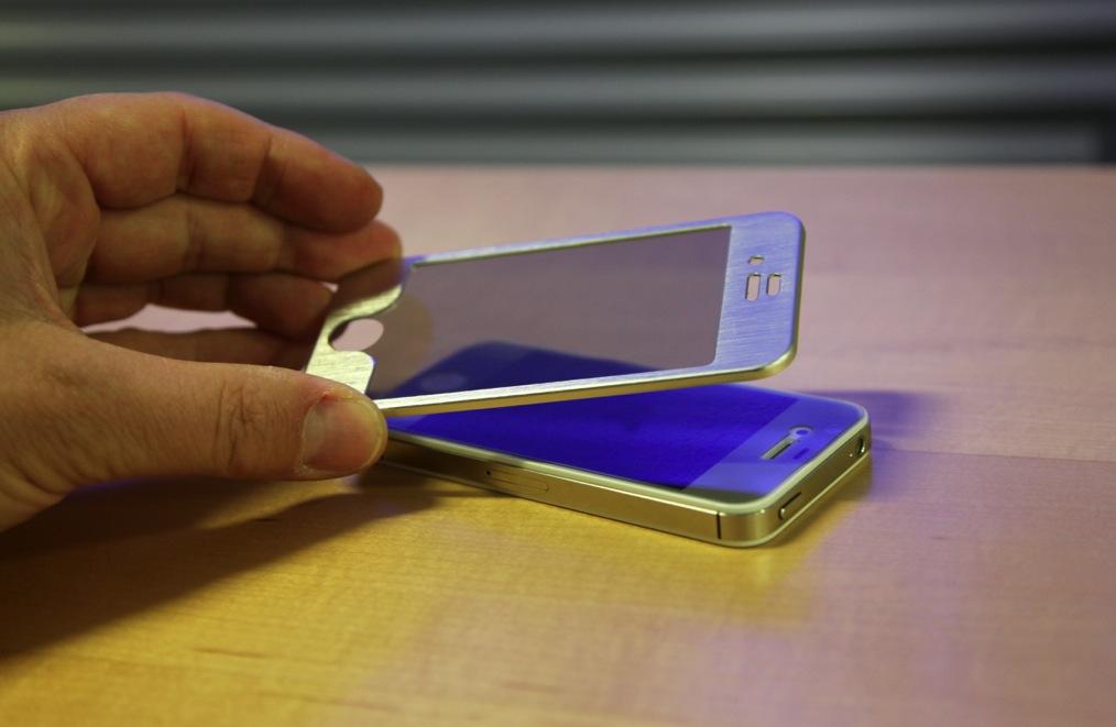 Erstes Muster: So wird der neue 3D Rahmen für iPhone aussehen