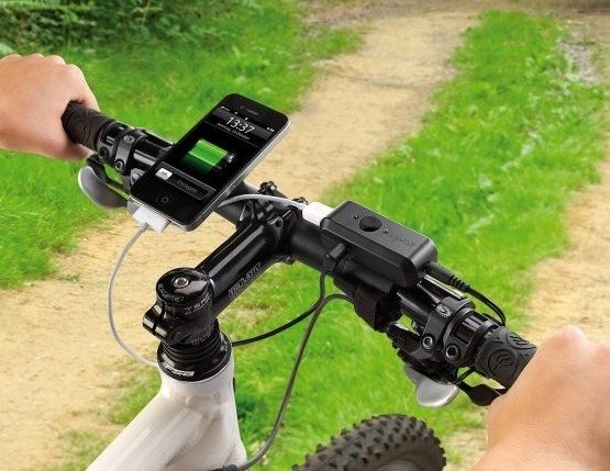 Genial, das Revolt Fahrrad-Dynamo Ladegerät für iPhone, iPod und Co.