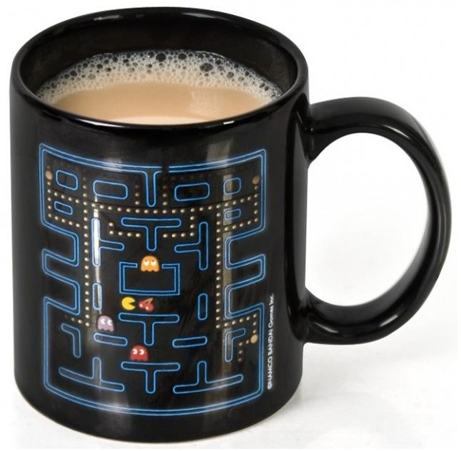 Pac Man Tasse mit Thermoeffekt