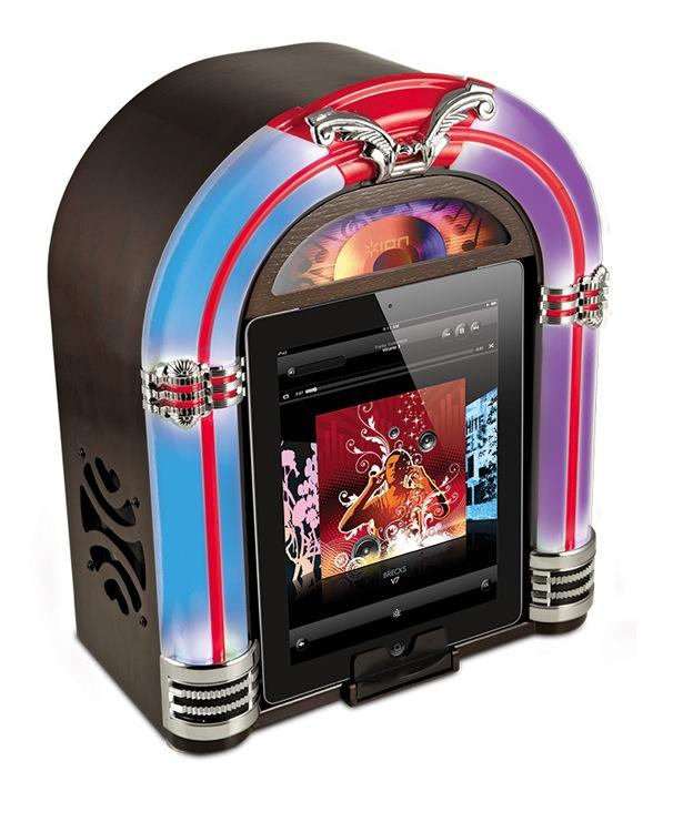 Neues iPad Jukebox Dock im Retro Style von ION Audio