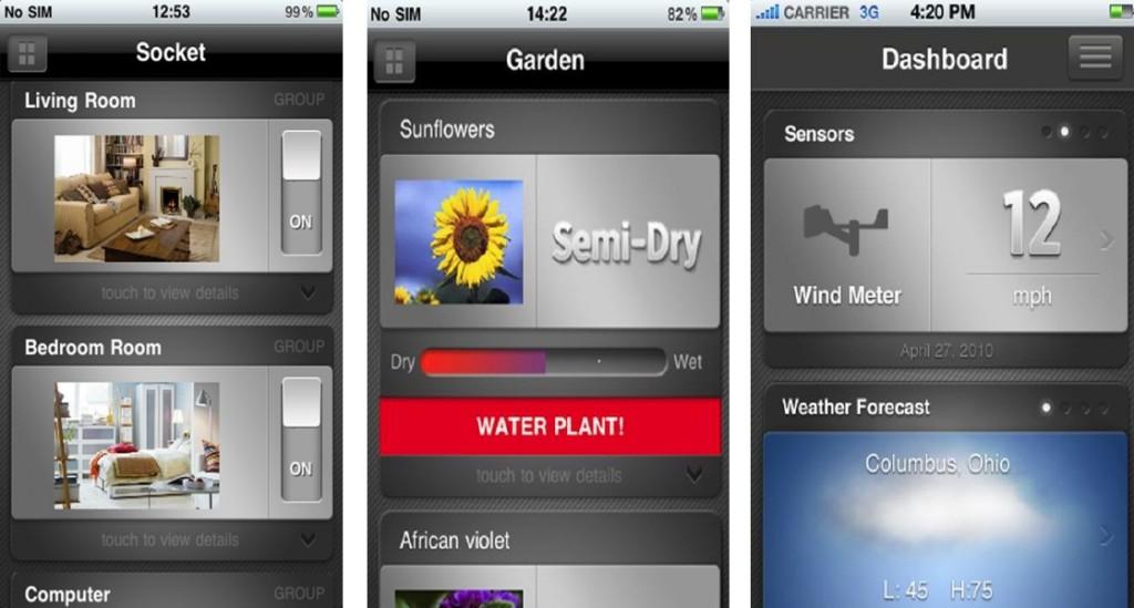 Steuerung über App für iPhone, iPad oder iPod - eSaver iConnect