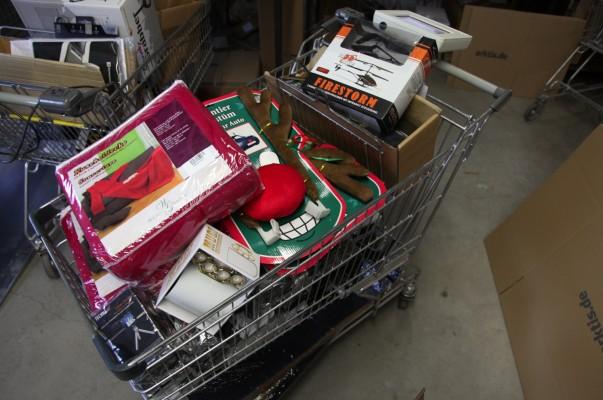 Ein typischer Weihnachts Warenkorb :)