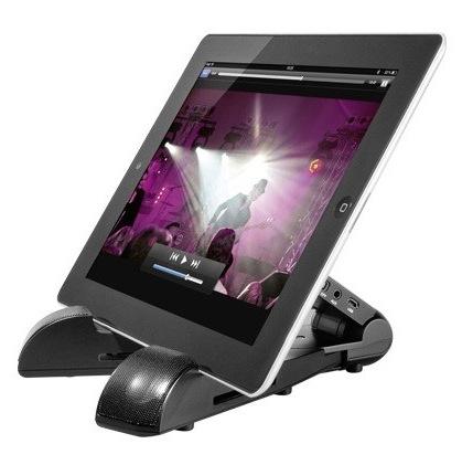 iPad Ständer inkl. Bluetooth Soundsystem von Cabstone