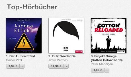 Tag 1 im iTunes Store und schon auf Platz 1