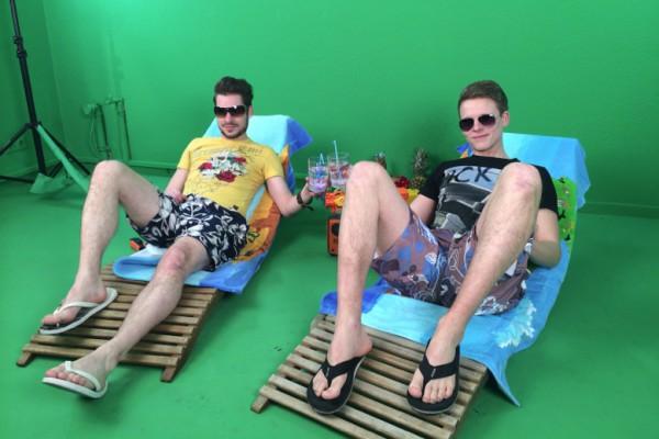 Das arktis.de Team im Urlaubs Modus