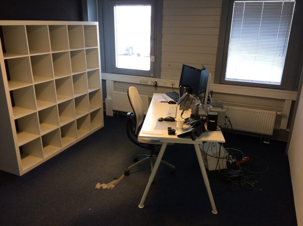 Das war mal mein Büro...