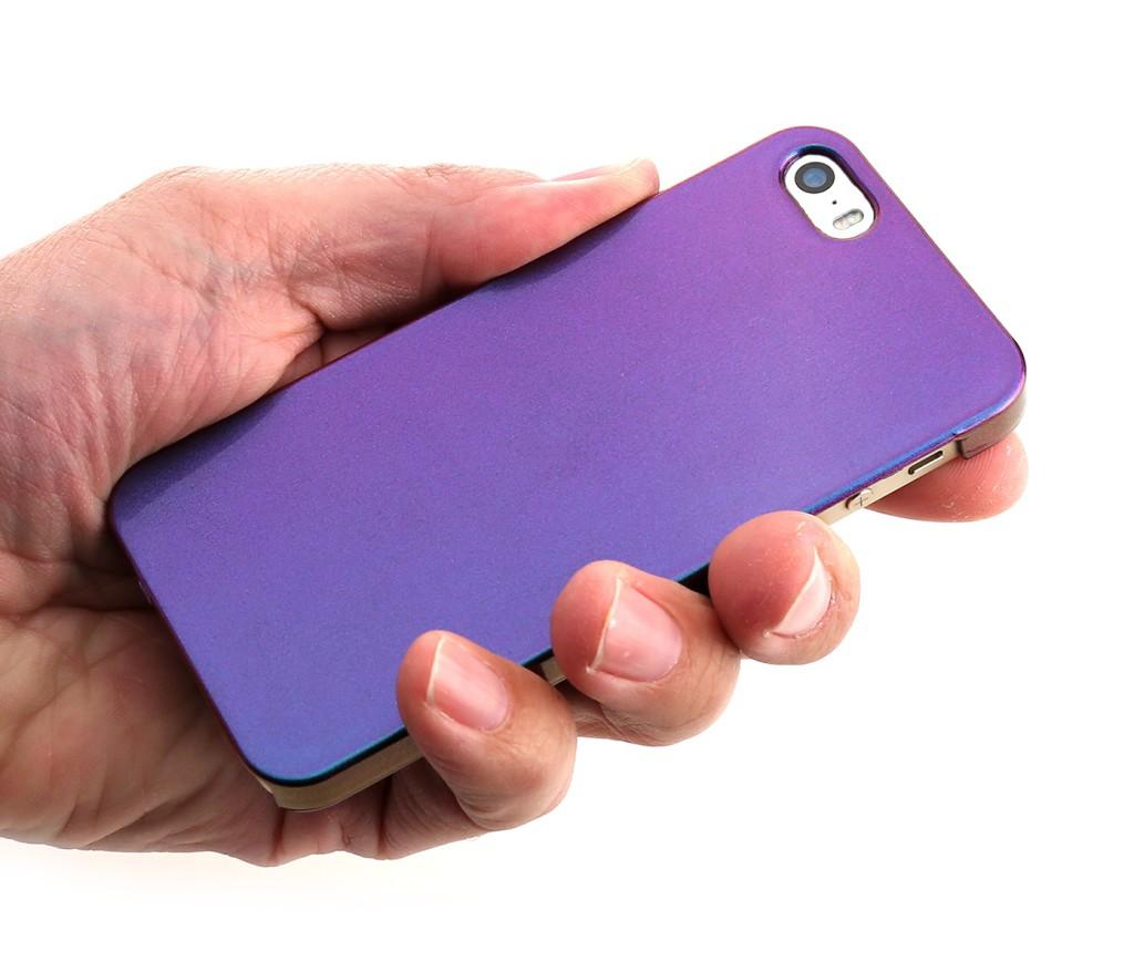 Nitro Case iPhone Hülle mit Flip Flop Interferenzlackierung