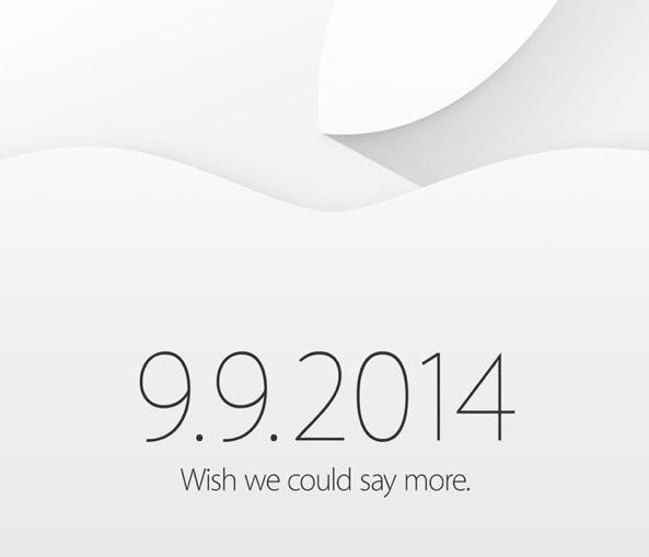 Jetzt ist es offiziell: Apple Keynote am Dienstag 9. September 2014