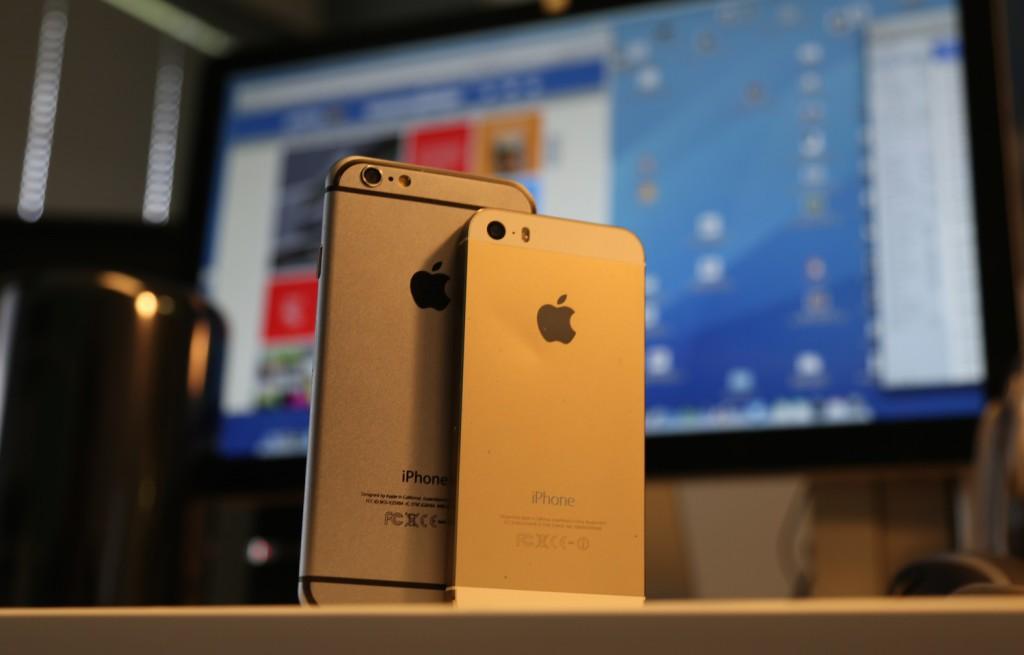 iPhone 6 vs. iPhone 5s