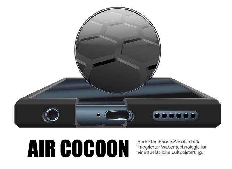 iPhone 6 Hülle mit integrierten Sicherheitswaaben
