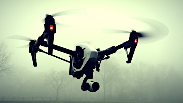DJI Inspire 1 Drohne, unser Sunseeker