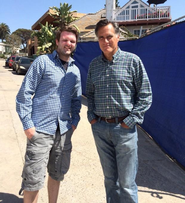 Tobi und Mitt Romney