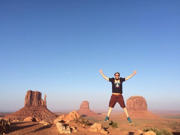 Tobi im Grand Canyon