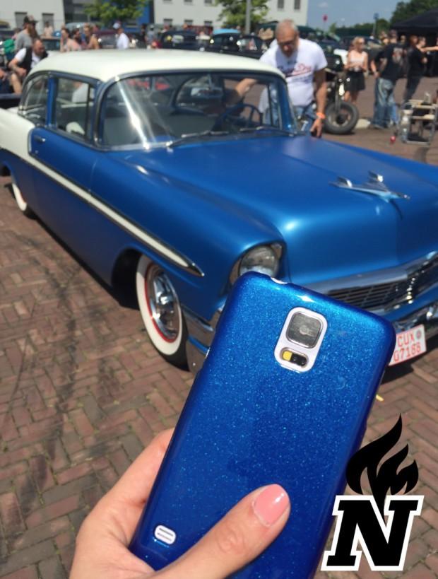 Nitro Case Smartphone Hülle mit Flip Flop Effekt