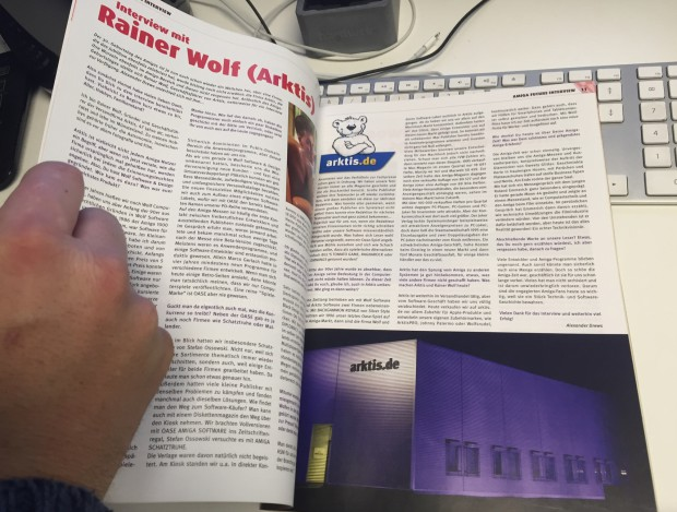 AMIGA FUTURE Interview mit Rainer Wolf