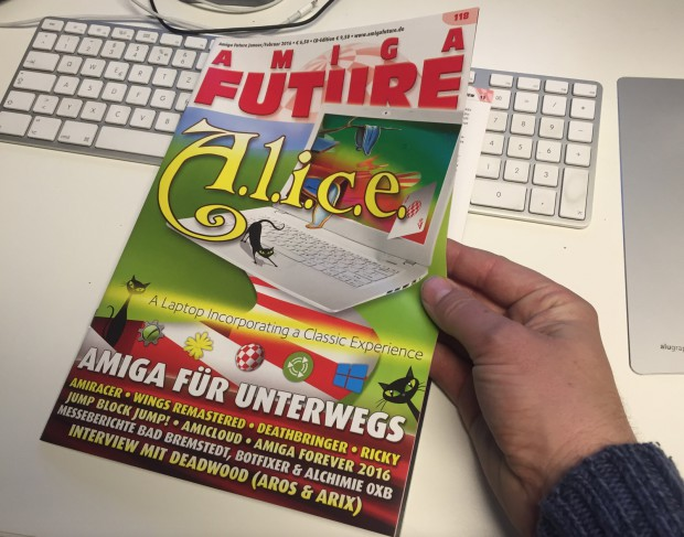 AMIGA FUTURE Ausgabe Januar / Februar 2016