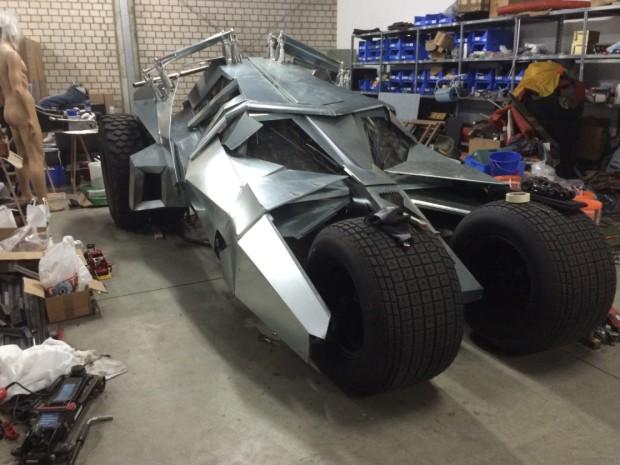 Batmobil Tumbler Nachbau