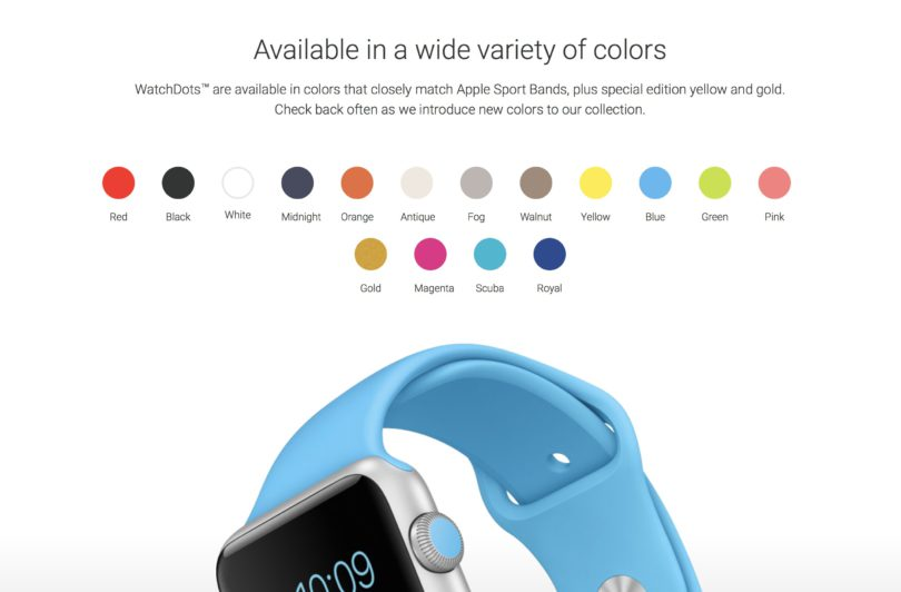 WatchDots für Apple Watch