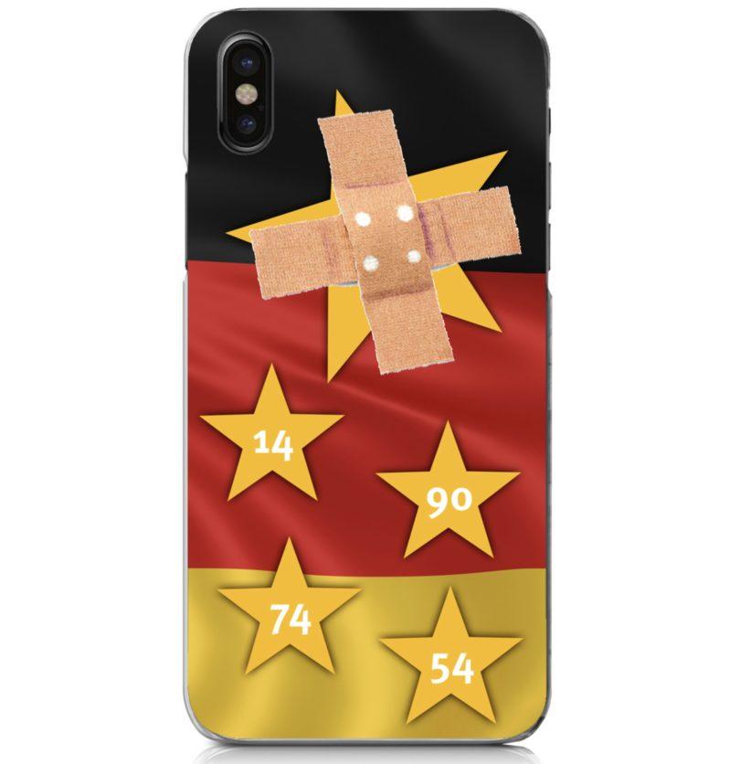 5 Sterne Hüllen für Deutschland - kleb nen Pflaster drüber