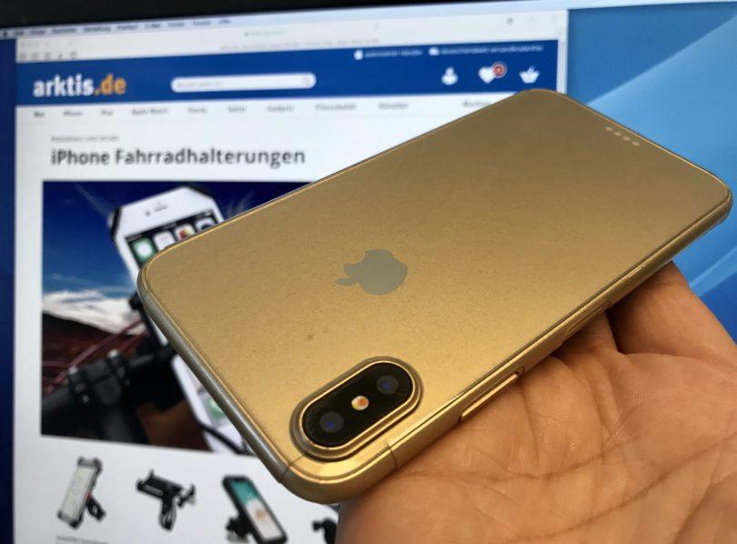 Das iPhone X soll es dieses Jahr auch in Gold geben