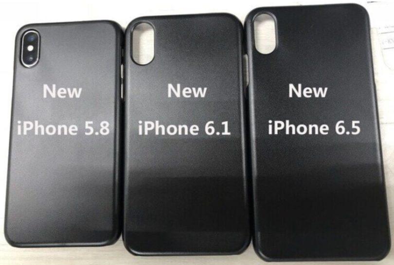 Drei neue iPhone Modelle für 2018