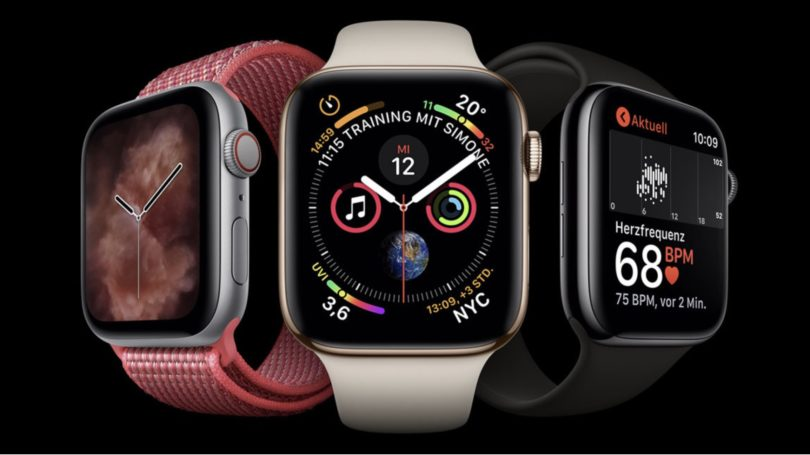 Apple Watch Series 4 ab Lager lieferbar