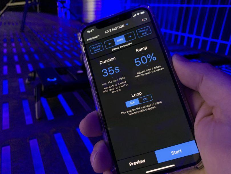 Lösung: Mit einem zweiten Smartphone könnt ihr den ROV Mobile fernsteuern