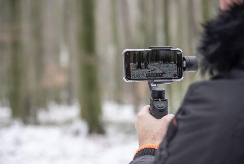 Filmdreh mit der App FiLMiC Pro