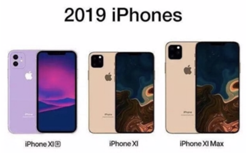 iPhone XI, iPhone XI Max und iPhone XIr