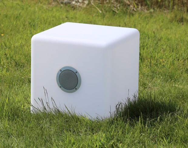Der Ibiza Bluetooth LED Soundcube