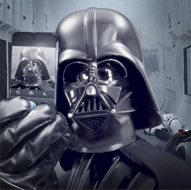 Dath Vader Selfie