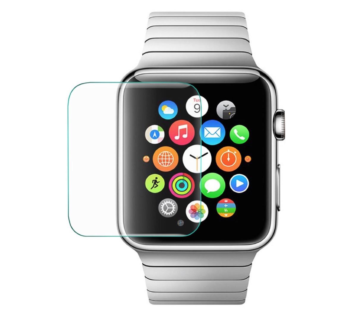 Das extra gehärtete Echtglas für die Apple Watch - original ArktisPRO!