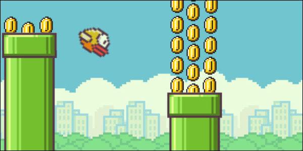 Flappy Bird ist eine Geldquelle!