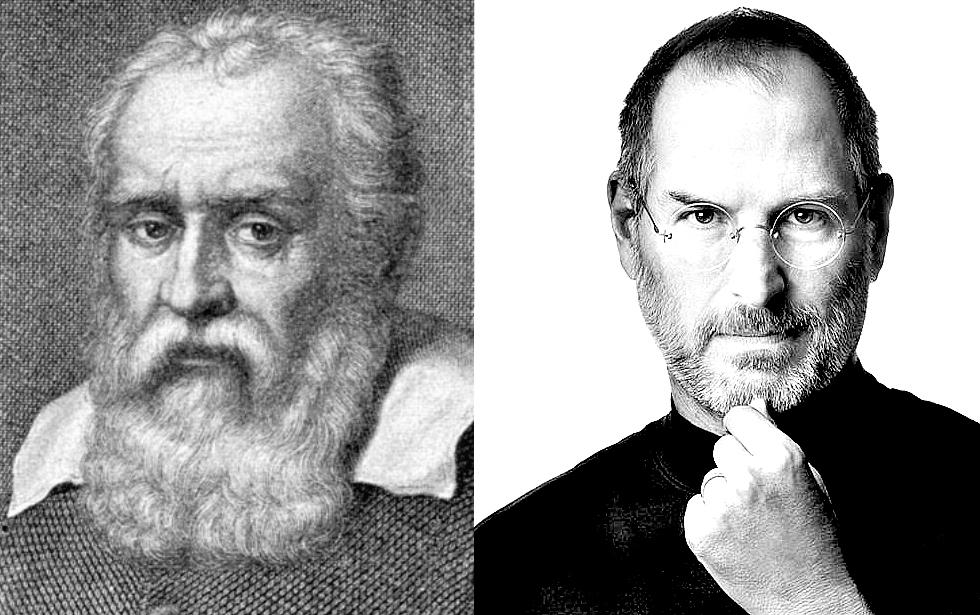 Galileo Galilei und Steve Jobs - Visionäre ihrer Zeit!