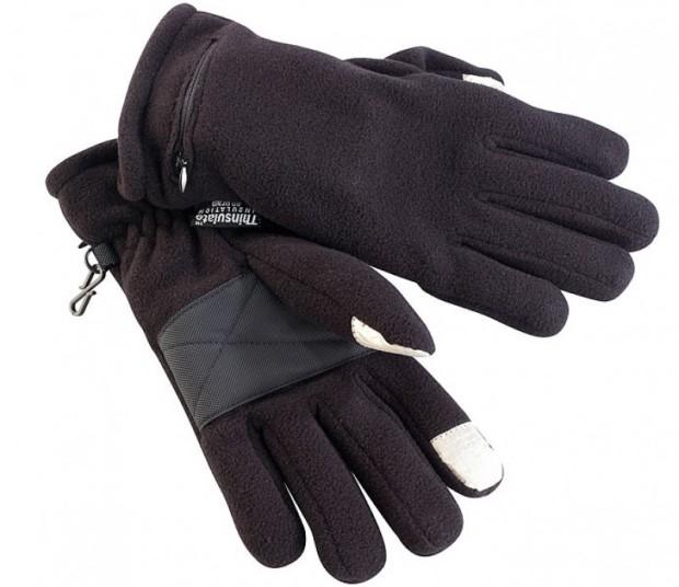 Die beheizbaren Handschuhe halten nicht nur die Hände warm, sondern ermöglichen auch das Bedienen von Touchscreens!