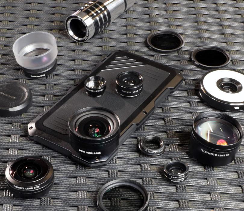 Das Wolffilms EPIC iPhone X Lens Case unterstützt zahlreiche Objektive von Fremdherstellern