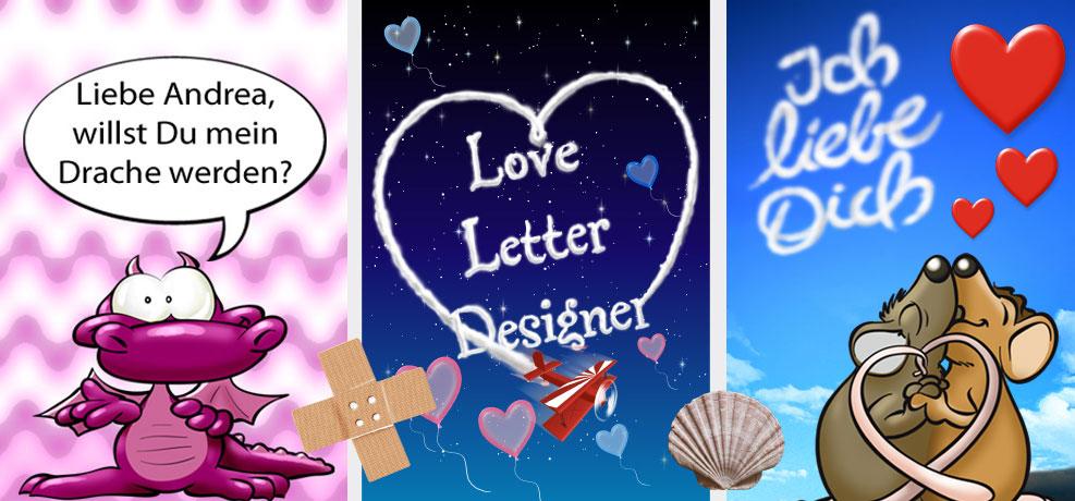 Die Loveletter Designer App für iPhone und iPod touch