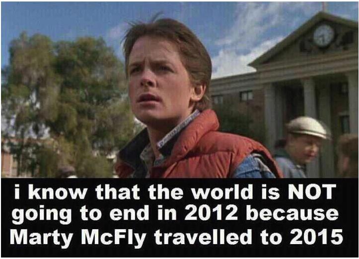 Doch kein Weltuntergang 2012 ?!