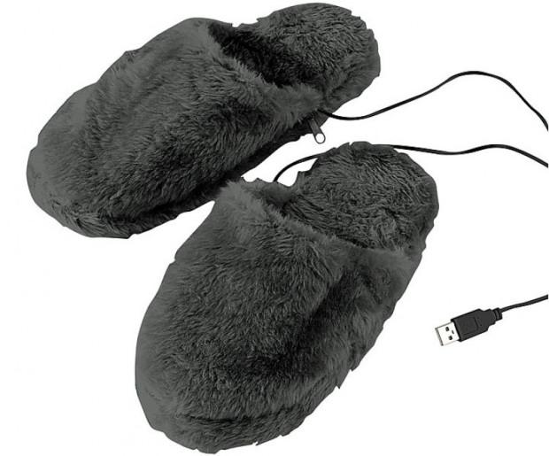 Stets warme Füße, ob daheim oder im Büro. Die USB Pantoffeln machen es möglich!