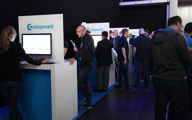 SCD 2016 Shopware Messestand