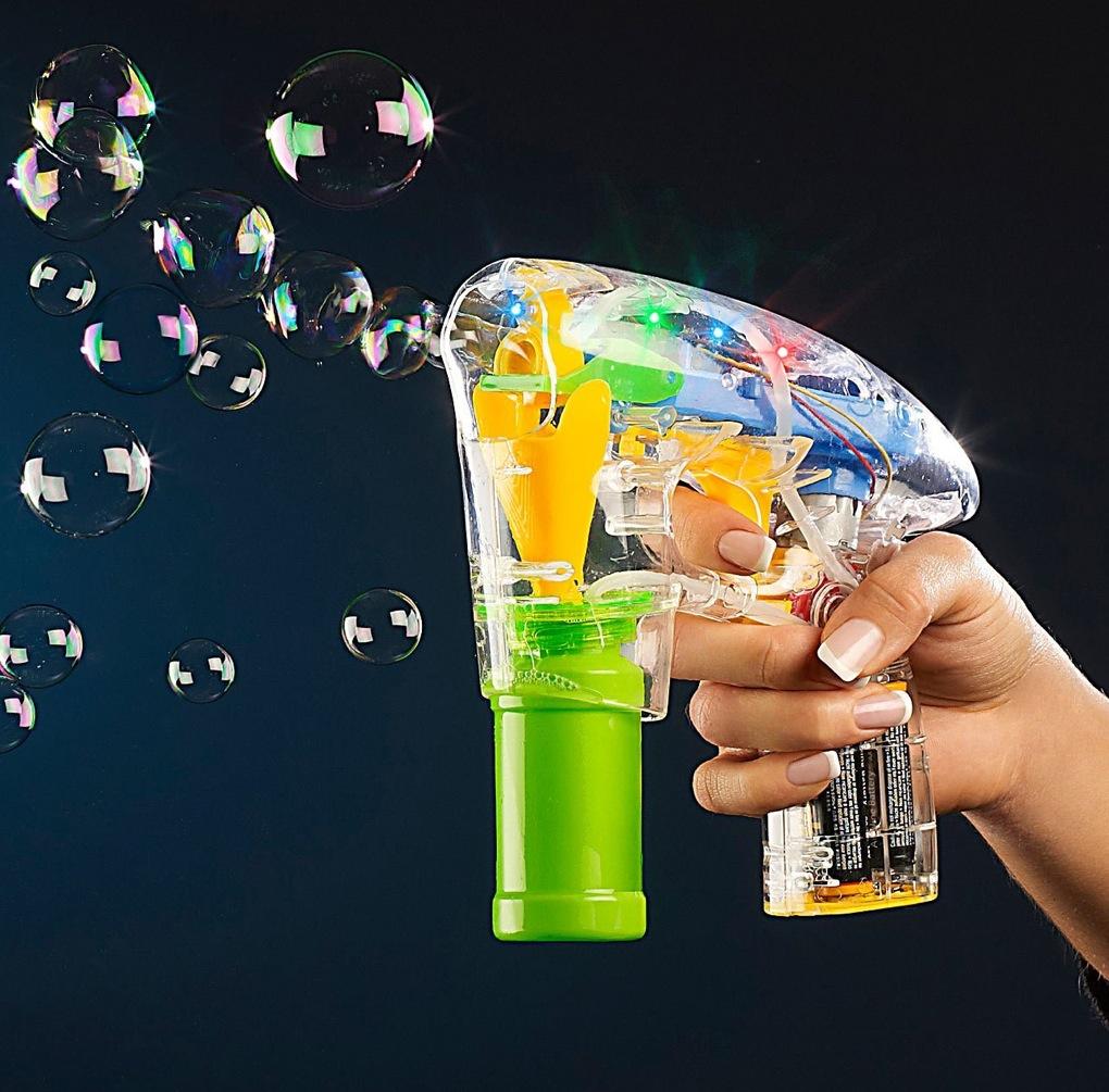 Ein Meer aus Seifenblasen - der Traum eines jeden Kindes!