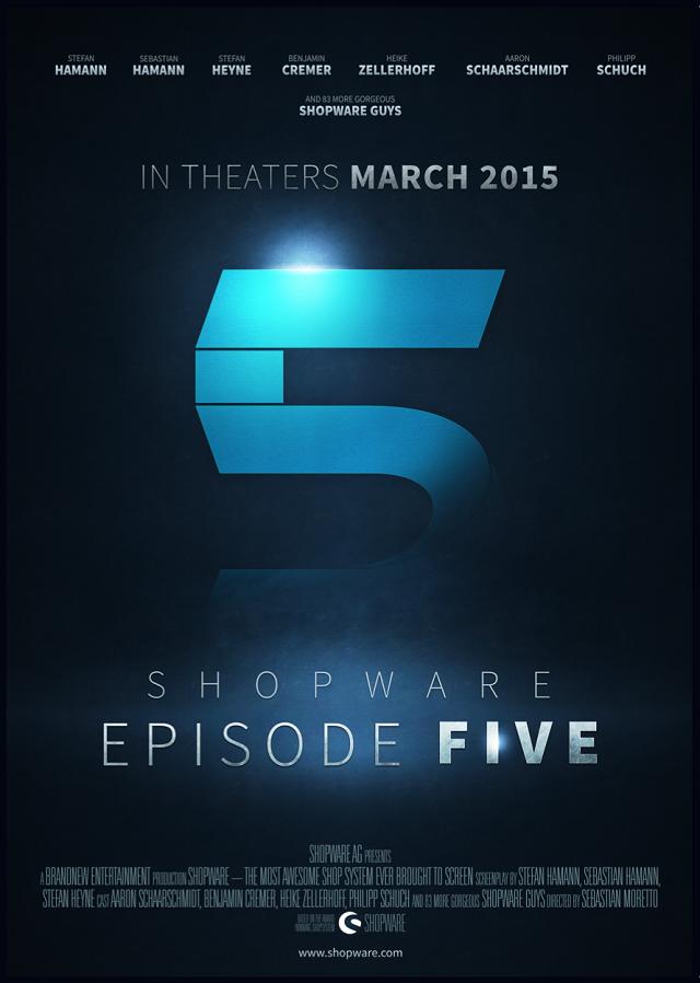 Shopware Episode 5 Kinoplakat