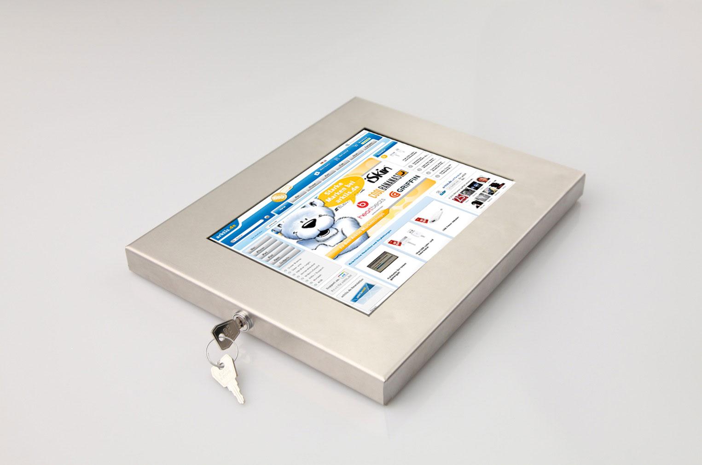 Ultradünne, diebstahlgesicherte Sir James Kiosk iPad Halterung