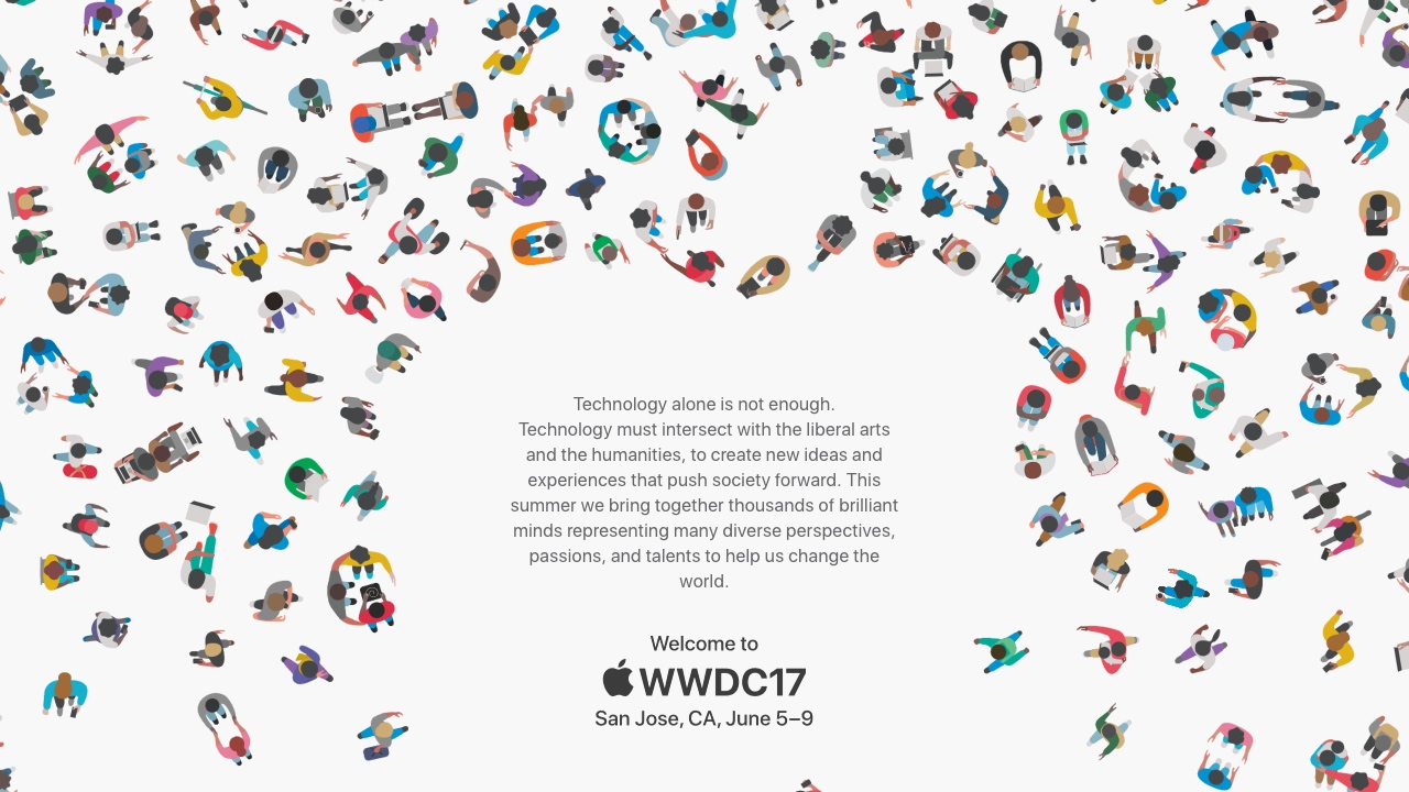 WWDC 2017 Einladung