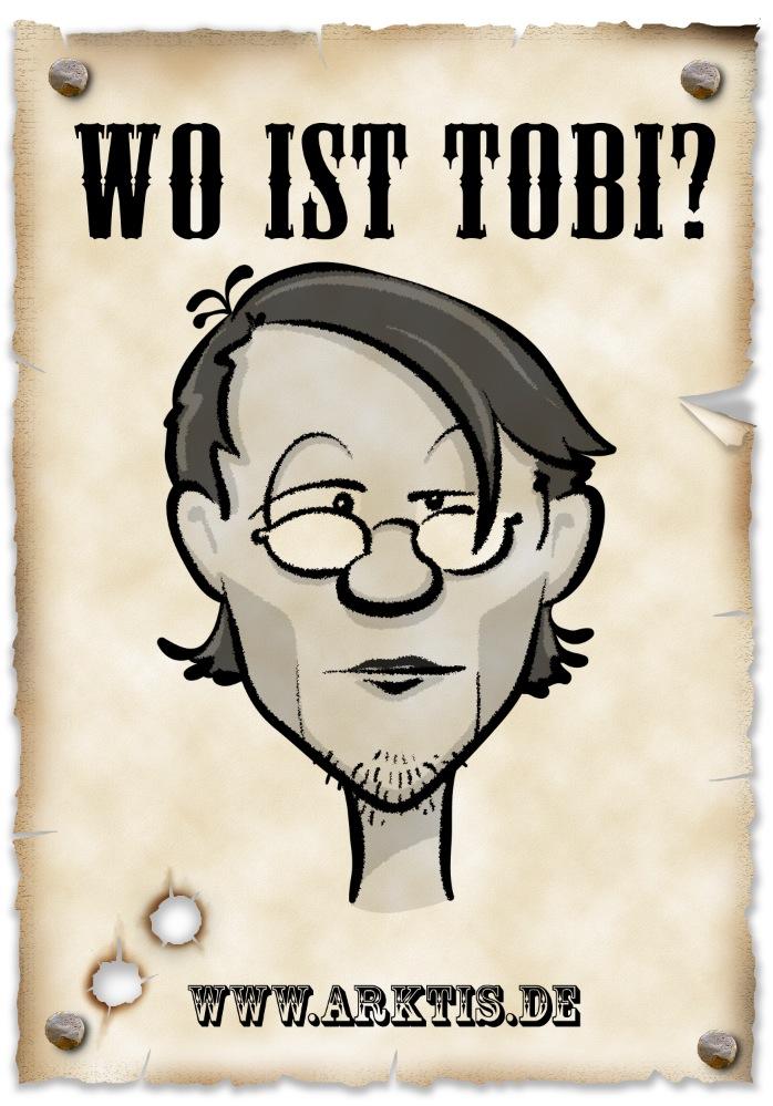 Tja, wo hat sich Azubi Tobi in unserem Film versteckt?