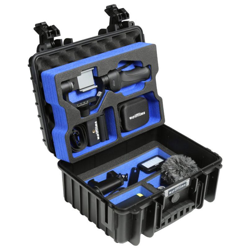 Alles was Smartphone Filmemacher benötigen - in einem Koffer von Wolffilms