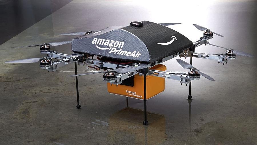 Ersetzen Drohnen zukünftig Paketlieferanten?