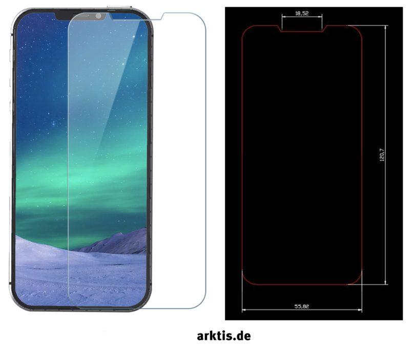iPhone SE 2 / 2018 Panzerglasfolie