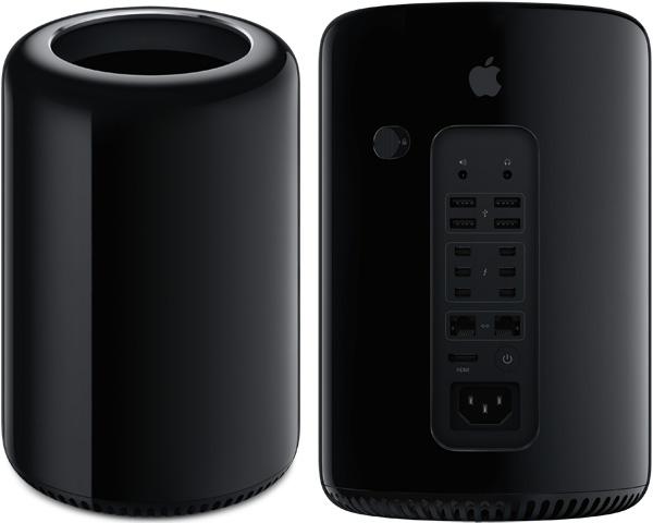 Der neue Mac Pro kommt in einem stilsicheren Design